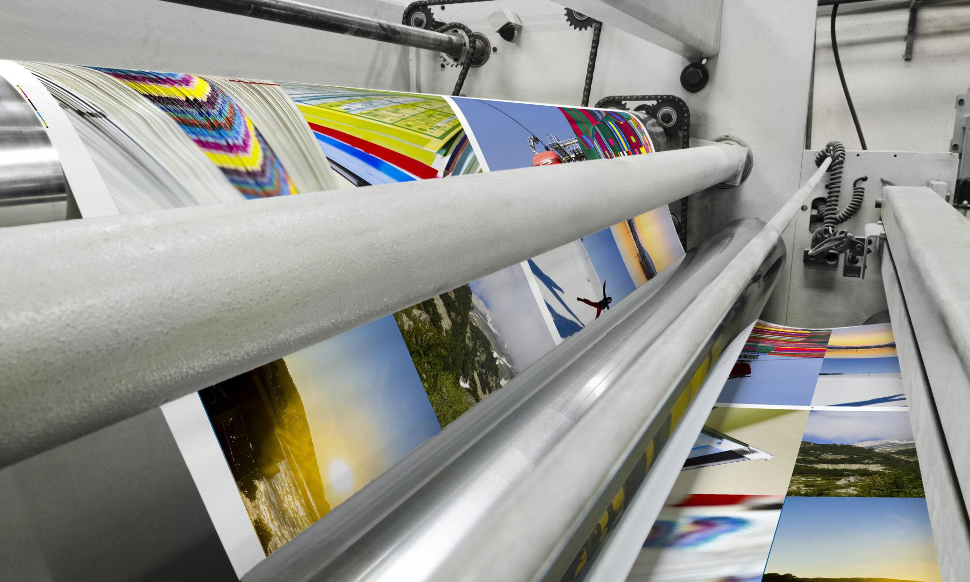 Groot formaat printen, posters A1, A2, A3, A4. Blueback, 135 grams MC